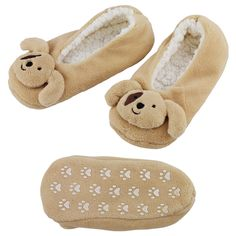 Fluffy Puppy Slippers at The Animal Rescue Site Every Purchase Funds Food and Care for Rescued Animals