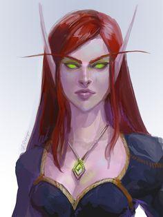 Blood elf by AppleSin.deviantart.com