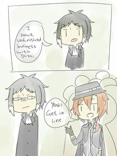 Bungou Stray Dogs ~Jokes~ - Life is short, but Chuuya is shorter..