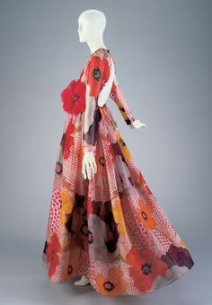 Dress Artist/Maker:Geoffrey Beene (American, b.1927, d.2004), designer Date:1969