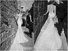 Galia Lahav Wedding Dress - Navona Gown Long Sleeves & Backless    Worldwide Collection Premiere: Galia Lahav's Much Anticipated La Dolce Vita {Part 2}