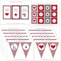 Free Printable for Valentine's Day Create Home Storage
