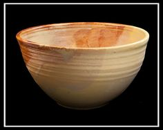 Large Pottery Bowl by yogiRon, via Flickr