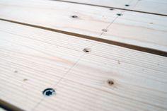 Att bygga ett stabilt trädgårdsbord – DIY   Livet på solsidan