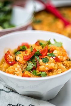 One-pot Prawn Dhansak curry