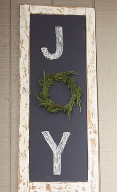 Make your own chalk board - Jenna Sue. Mix 2 TBsp of unsanded grout (mixed with water) and 1 cup of paint (she used leftover Valspar paint in eggshell).