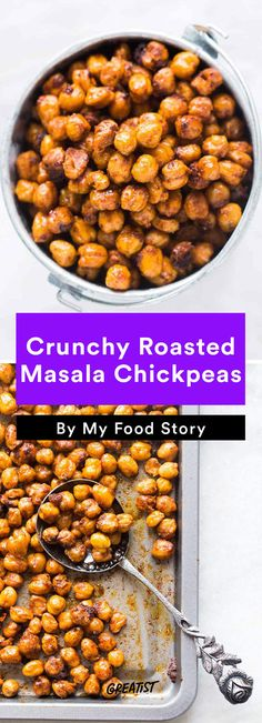 9. Crunchy Roasted Masala Chickpeas #healthy #indian #food http://greatist.com/eat/indian-recipes-that-are-easy-to-make-at-home