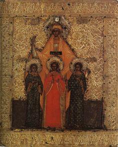 Saints Sophia,  Hope, Faith and Love.