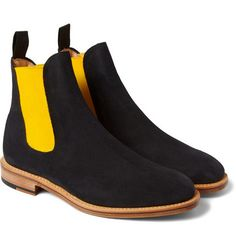Mark McNairySuede Chelsea Boots