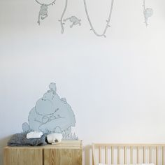 Sweet and tender character perfect for a baby room or kid's room. From the Design brand bubbles and bubbles. bubbles and bubbles® is a young design brand for kids offering high quality and great design products for babies and toddlers made from the European most sustainable and safe materials. Made in Spain.