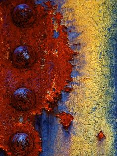 """Rust Rules"" ~ Abstract by Steven Reed Art Grunge, Fractal, Abstract Photography, Levitation Photography, Experimental Photography, Exposure Photography, Water Photography, Peeling Paint, Rusty Metal"