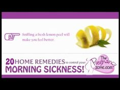 20 Home Remedies To Control Your Morning Sickness! preparing for pregnancy prepar for pregnancy #baby #pregnancy