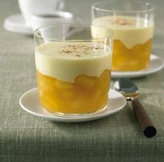 Apple groats with eggnog recipe - Apple groats with eggnog Informations About Apfelgrütze mit Eierlikör Rezept Pin You can easily us - Trifle Desserts, Pudding Desserts, Oreo Dessert, Chia Pudding, Dessert Recipes, Desserts Thermomix, Unique Desserts, Creative Desserts, Fancy Desserts