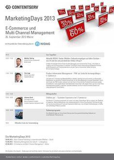 Das Programm im Überblick - mehr unter: http://www.contentserv.com/de/Programm-MarketingDay-Mainz-726.html