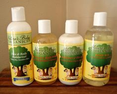 Nature's Baby Organics has a full line of high quality natural bath and body products for your little one--learn more in my review!
