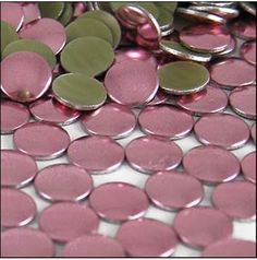 Hot fix nailheads. Come in a gorgeous array of colours. Great for female and male projects alike. Round Nails, Metallic Pink, Bubblegum Pink, Embellishments, Nail Head, My Favorite Things, Hot, Colours, Beads