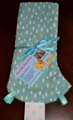 Custom made teething pads for baby carrier