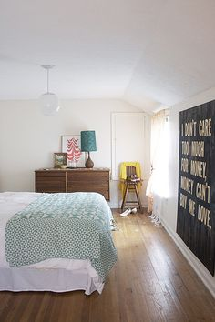 Homemade Sign Bedroom