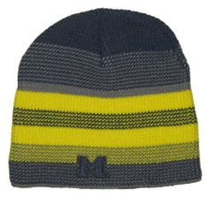 Michigan Wolverines NCAA Adidas Striped Team Colors Sweater Knit Beanie Hat by NCAA. $15.99. Officially Licensed. Embroidered Logos. One Size Fits Most. Michigan Wolverines NCAA Adidas Striped Team Colors Sweater Knit Beanie Hat