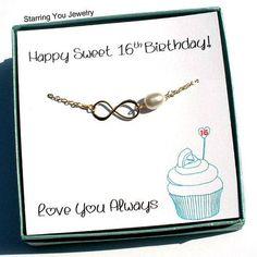 Sweet 16 Gift for Daughter Sweet 16 Bracelet Daughter