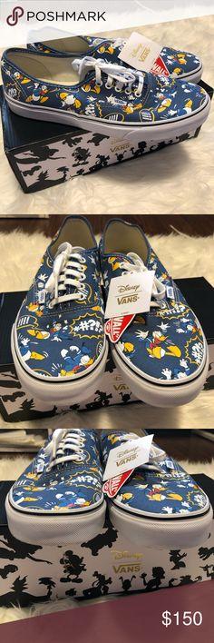 BLACKRED MENS VANS SKATE CHUKKA LOW SHOES  Vans. See more. Men s Disney  Donald Duck Navy Vans Men s Disney Donald Duck Vans in great condition! Size 3a0d812ec