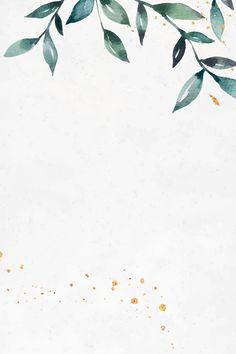 Watercolor Border, Green Watercolor, Watercolor Leaves, Watercolor Background, Flower Background Wallpaper, Tropical Background, Framed Wallpaper, Flower Backgrounds, Wallpaper Backgrounds