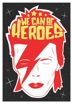 Available online from David Bowie Quotes, David Bowie Art, Papa Roach, David Bowie Wallpaper, Garth Brooks, Hero Poster, Dorm Art, Music Wall Art, Breaking Benjamin