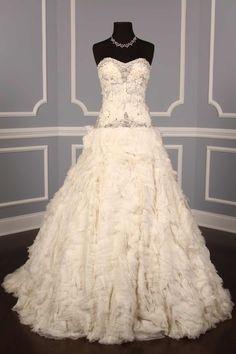 Monique Lhuillier Soleil Couture Bridal Gown