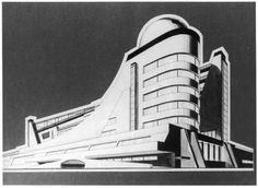"""The utopian city: from the futuristic metropolis to exhibition in Rovereto - BMIAA Diesel Punk, Art Nouveau, Art Deco, Streamline Moderne, Line Art, Futuristic, Mid-century Modern, Machine Age, Design"