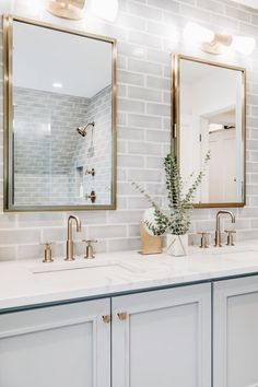 33 modern farmhouse master bathroom renovation with delta 14 Related Bathroom Kids, House, Home, Bathroom Decor Luxury, Bathroom Remodel Master, Bathroom Makeover, Master Bathroom Renovation, Bathroom Interior, Bathroom Decor