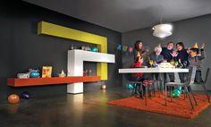 36e8 by Daniele Lago www.lago.it #Design, #Colour, #Joyful, #Family, #Lago, #Interior, #Furniture, #36e8, #Living