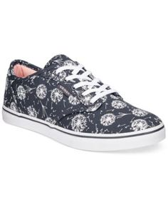 3373bcdd449e52 Vans Women s Atwood Low Dandelion Lace-Up Sneakers Shoes - Sneakers - Macy s