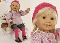 SCHILDKRÖT POUPEE LILLI - poupée d'artiste de Brigitte Paetsch