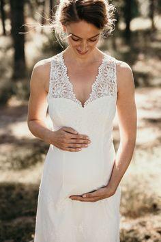 edel und leicht  brautkleider für schwangere von tiffany rose  leichte brautkleider brautmode