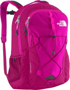 The North Face Women's Jester Laptop Backpack Dramatic Plum/Luminous Pink - via eBags.com!