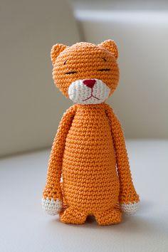 Amineko the Crochet Cat