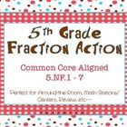 This free product contains 24 cards with fraction word problems all aligned to Common Core State Standards.CC ~ 5.NF.1 - 7This is a perfect...   # Pin++ for Pinterest #