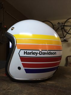 If your helmet doesn't have any eye protection, there are some choices. Half helmets aren't considered open face because no component of them extends . Harley Davidson Seats, Harley Davidson Quotes, Harley Davidson Tattoos, Harley Davidson Helmets, Motorcycle Helmet Design, Women Motorcycle, Motorcycle Gear, Vintage Helmet, Custom Helmets