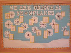 winter+bulletin+board+ideas   The kids wrote winter poetry. I used a really simple method for ...