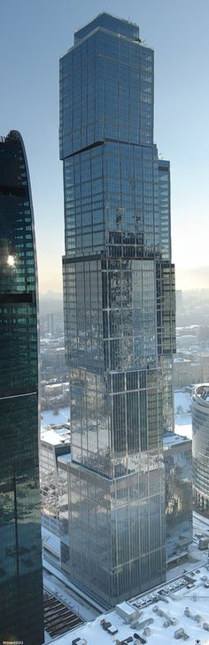 Capital City Moscow Tower, Russia by NBBJ Architecture :: 76 floors, height 302m