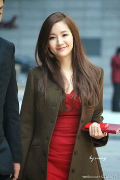 Park Min Young healthy hair