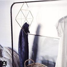 Pendant | Brass Scarf Hanger | Umbra, design by Laura Carwardine