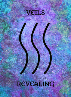 TheVeils (Revealing) image for the Transcendence Oracle™ card deck by Aethyrius.