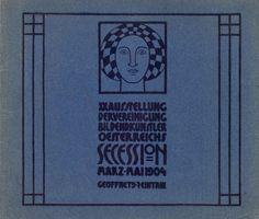 Cover. Vienna Secession exhibition catalog. XX Exhibition, March-May 1904. #viennasecession