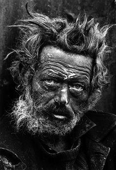 """homeless irishman, spitalfields, london 1969"" | don mcCullen"