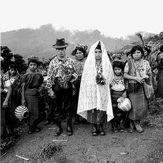 Traditional Guatemalan bride + groom.