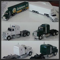 This vehicle paper model is a Ford LTL-9000 truck, created by B@F. The scale of the papercraft is in 1:86. In 1976 Ford added the LTL-9000, a truck markete