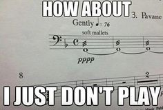 Musical humor :P Band Nerd, Funny Quotes, Funny Memes, Hilarious, Film Quotes, Music Jokes, Funny Music, Music Music, Music Stuff