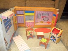 Tammy's Ideal House by Ideal, 1963 Sweet Memories, Childhood Memories, Tammy Doll, Toys For Girls, Girl Toys, Winter Wonder, Barbie House, Doll Furniture, Ideal Home