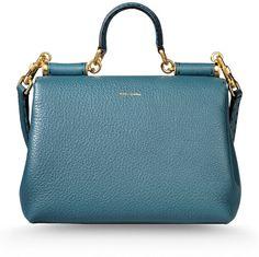 Love this: Medium Leather Bag @Lyst